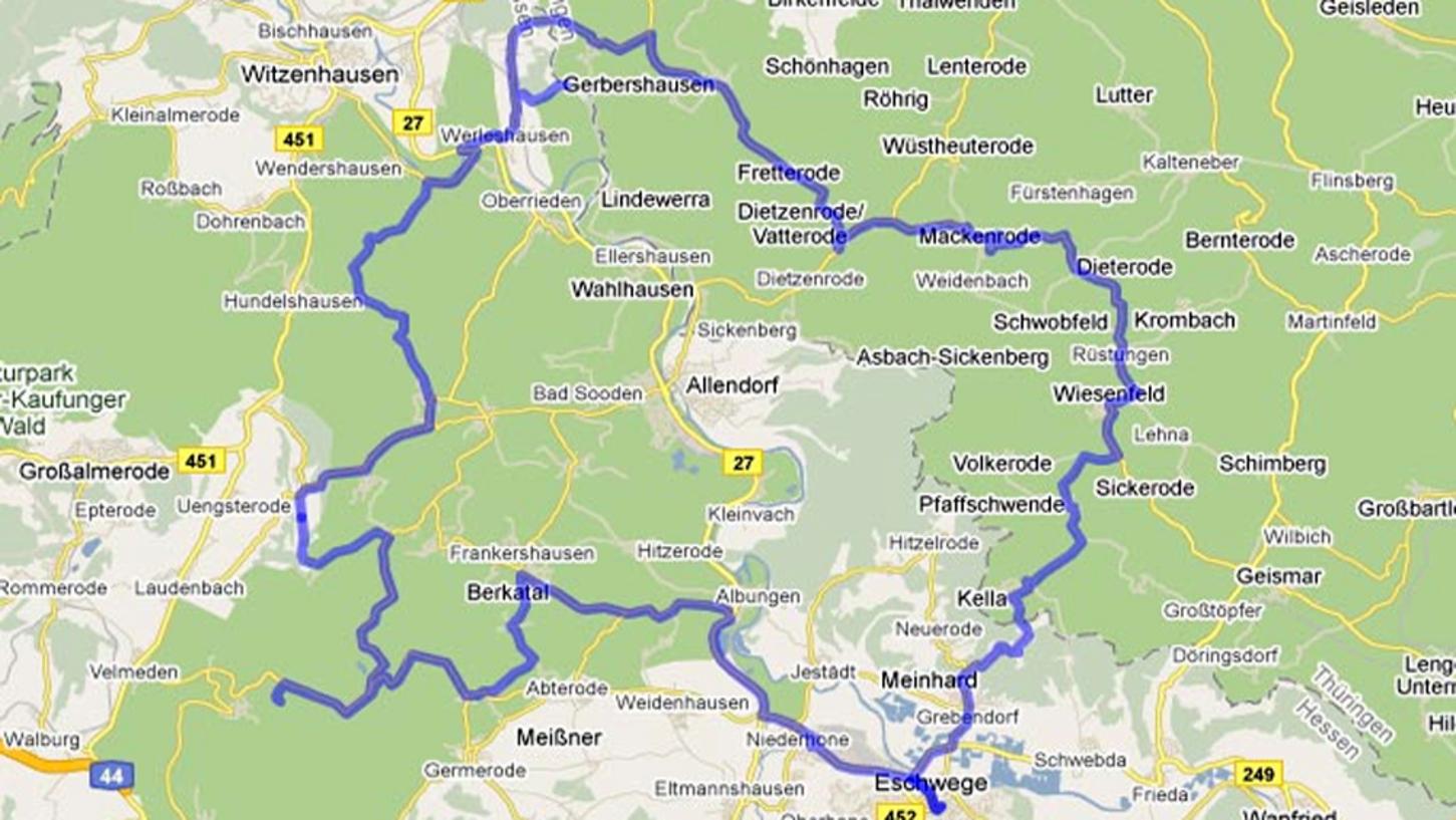 Tourentipp 2 Eichsfeld Und Burgruine Hanstein Werratal Tourismus